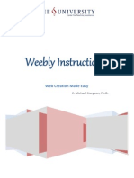 Weebly used in Education