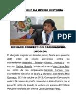 PERUANO QUE HA HECHO HISTORIA
