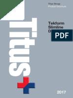 Tekform-Slimline-Drawer instruccion de instalacion.