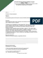 INSTITUCION EDUCATIVA TECNICA COMERCIAL CALDAS, Grado 8, guías 11, 12, 13, 14.