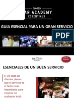 GS-0001 - Guía esencial para un gran servicio, Diageo Bar Academy
