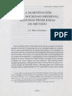 Ruiz Doménec, J.E.-La marginación en la sociedad medieval; algunos problemas de método.pdf