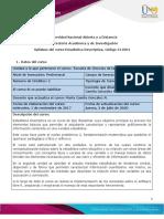 Syllabus del curso_Estadística Descriptiva
