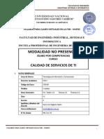 CALIDAD DE SERVICIOS DE TI-A