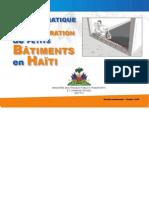 GUIDE PRATIQUE DE PREPARATION DE PETITS BATIMENTS EN HAITI (MTPTC) _18JAN11