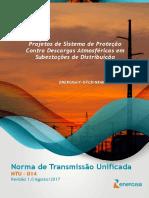 NTU 014 - Projetos de SPDA em Subestações de Distribuição.pdf