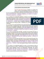 ACTA DE SESION CRAT CANAL DE RIEGO SECTOR POCCONTOY