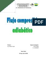Flujo compresible adiabático