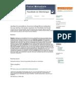 Análise da prevalência de erros radiográficos realizados em um serviço de ensino superior do Nordeste do Brasil _ Andrade _ Revista da Faculdade de Odontologia de Lins