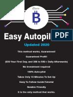 Free Easy Autopilot Btc Method