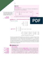 Determinante de matrices triangulares