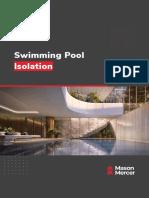 Mason Mercer Swimming Pool Isolation