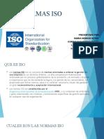 DIAPOSITIVAS NORMAS ISO