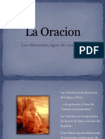 LA ORACIÓN 37 diapositivas