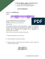 GRUPO 1,2,3 GUIA DE APRENDIZAJE EMPRENDIMIENTO SEM 5 RECESO ESCOLAR