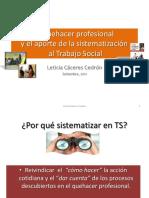 CACERES CEDRON LETICIA, EL QUEHACER PROFESIONAL Y EL APORTE .pdf