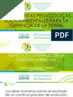 ASPECTOS GENERALES DE LA GESTION AMBIENTAL
