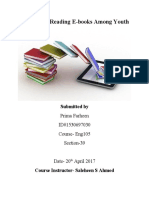 Final Report-Practice Of Reading E-books