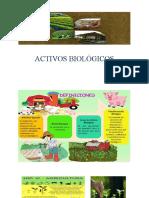ACTIVOS BIOLÓGICOS