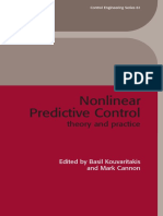 Nonlinear Predictive Control_ Theory and Practice-The Institution of Engineering and Technology (2001)