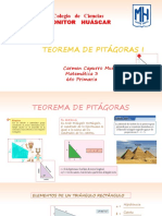 Clase Teorema de Pitagoras -