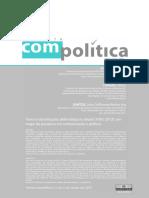 Um mapa da pesquisa em Comunicação e Política