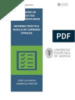 Informe Cítricos - Mesa , Pástor