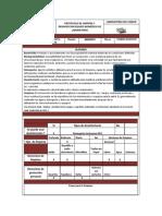 PROTOCOLO DE LIMPIEZA Y DESINFECCION EQUIPO BIOMÉDICO DE LABORATORIO CIGGUR -2 - 2020