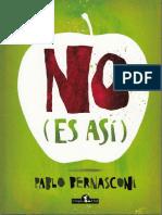 _Bernasconi, Pablo, No es asi