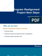 Sound Transit - Capital Program Realignment Project Next Steps - 8-27-2020
