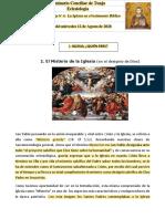 Eclesiología - Guía 4