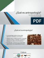 Qué es antropología