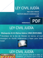 la ley civil judia