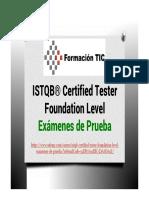 ISTQB® Certified Tester Foundation Level (CTFL) - Exámenes de Prueba