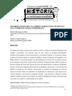 MULHER E FEITIÇARIA NA AMÉRICA PORTUGUESA DO SÉCULO XVI cotidiano, magia e inquisição