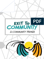 Exit to community