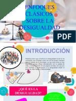 ENFOQUES DE LA DESIGUALDAD