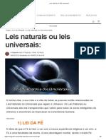 A Leis naturais ou leis universais.pdf
