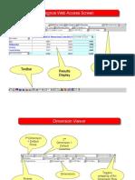 Cognos Screen Diagrams
