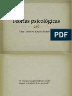 Teorías psicológicas