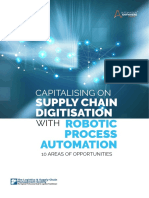 CAPITALISING ON SUPPLY CHAIN DIGITISATION WITH ROBOTIC PROCESS AUTOMATION