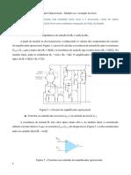Videoaula 38 – Amplificador Operacional – Modelo ac e exemplo inversor