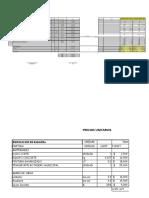 Presupuesto Loteo Chaquehuea
