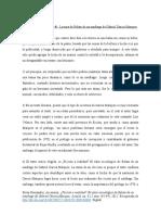 Análisis de Relato de un Náufrago - Garcia Márquez