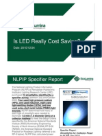 Is LED Really Cost Saving
