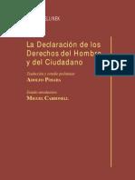 LA DECLARACION DE LOS DERECHOS DEL HOMBRE Y DEL CIUDADANO - GEORG JELLINEK