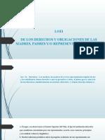 Derechos y Obligaciones de Padres, Madres y Representantes Legales