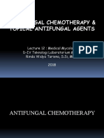 Antifungal chemotherapy and topical antifungal agents (Kuliah 12-13)-1.ppsx