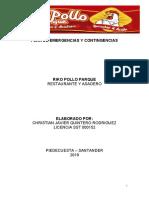 PLAN DE EMERGENCIAS Y CONTINGENCIAS RIKO POLLO