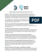 Directive 031 - FAQ - English